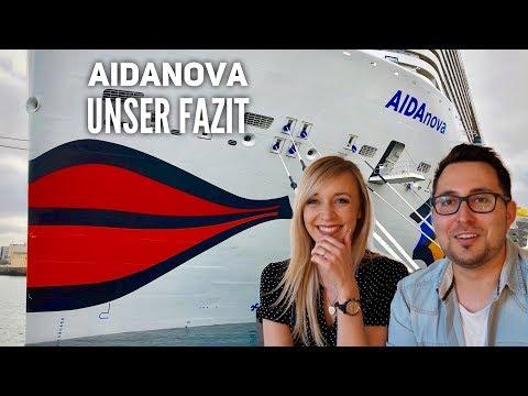 AIDA Vlog #7: Unser Fazit zur AIDAnova