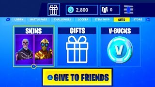 Gifting System Fortnite