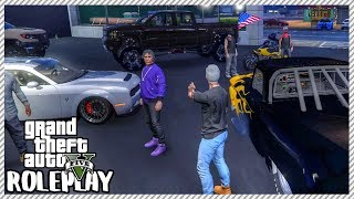 GTA 5 ROLEPLAY - Buying New Car Inventory to Sell   Ep. 324 Civ