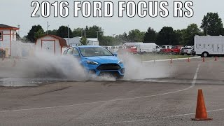2016 FOCUS RS Track Test,  One Take, Review and Exhaust CLIP