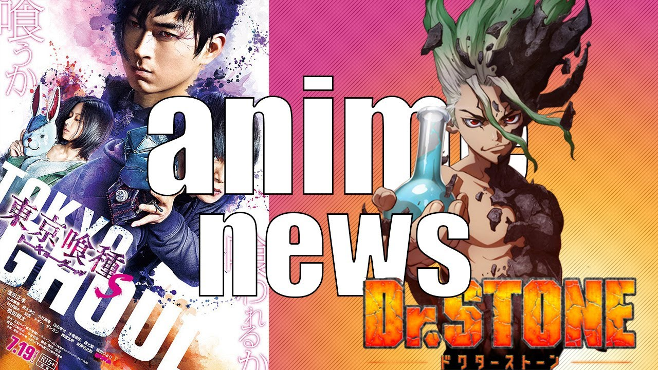 Dr Stone Teaser Live Action Tokyo Ghoul S And More Raymond Noodles Anime News 2 Youtube