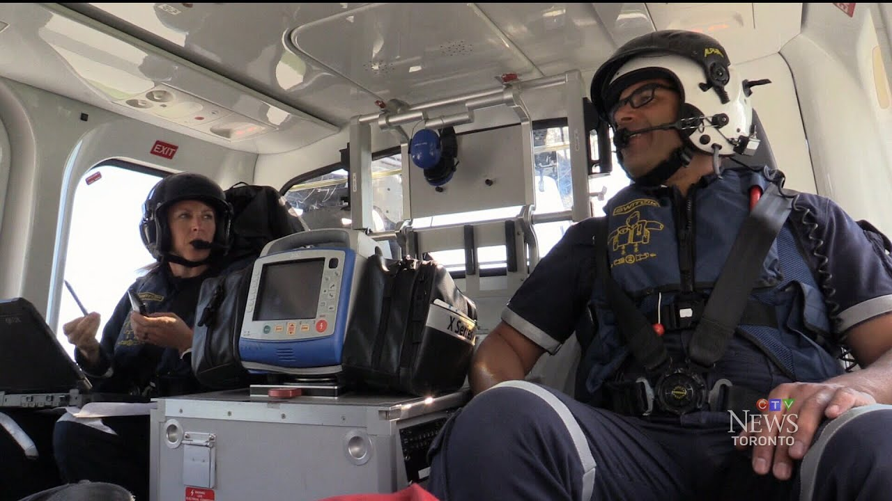 Day In The Life Of An Ornge Air Ambulance Service Member