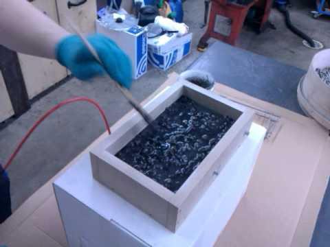 epoxy granite test mould 4 youtube. Black Bedroom Furniture Sets. Home Design Ideas