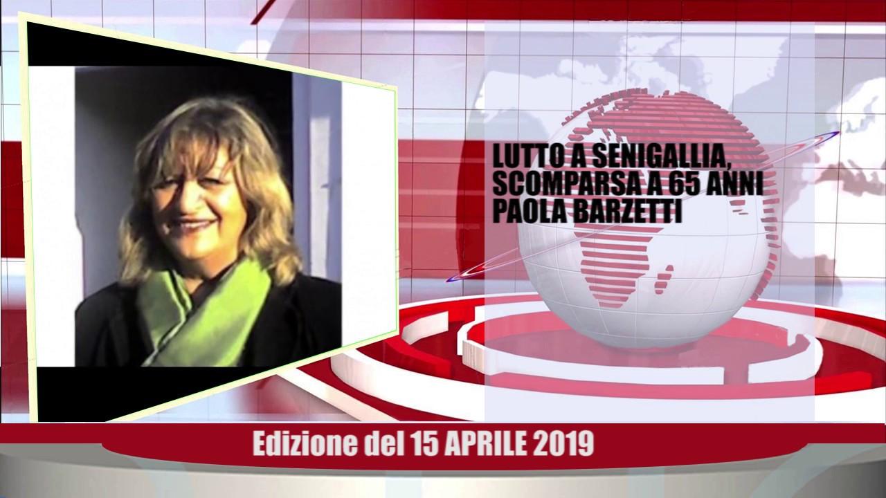 Velluto Notizie Web Tv Senigallia Ed  15 04 19