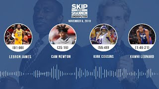 LeBron, Cam Newton, Kirk Cousins, Cowboys (Full Show) | UNDISPUTED Audio Podcast