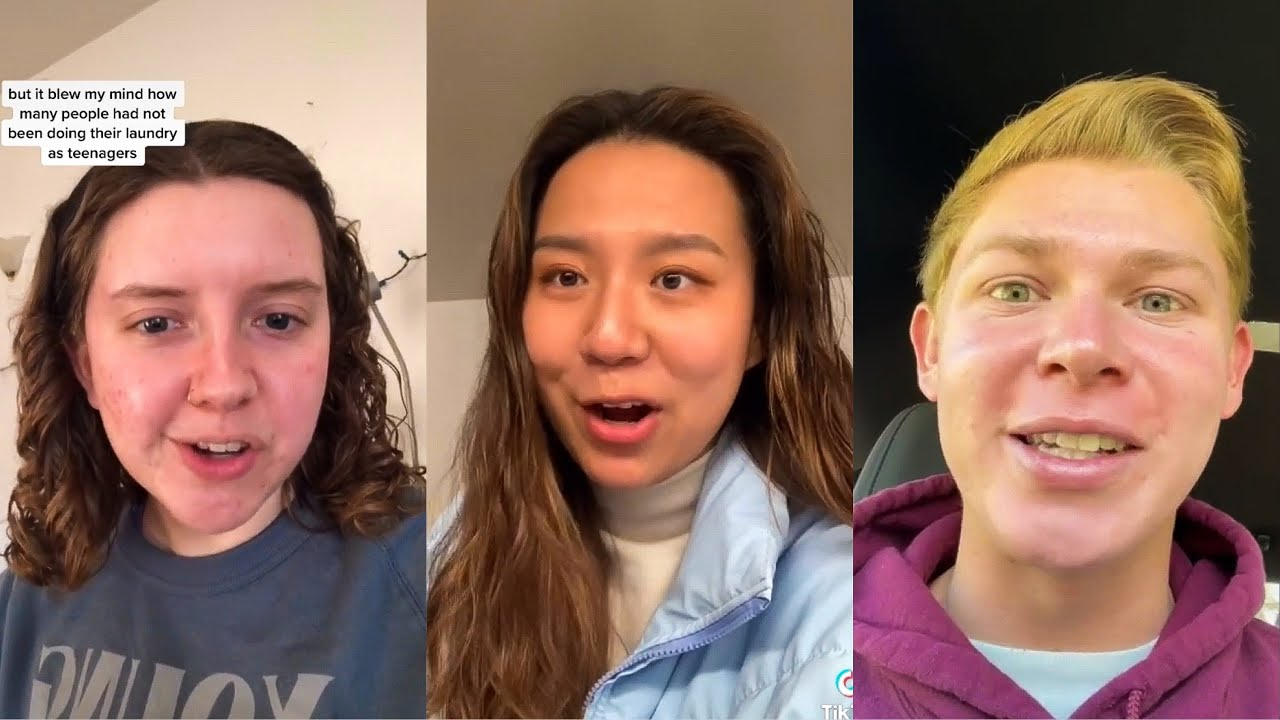 The Culture Shock of Adjusting to College | Tik Tok 2021