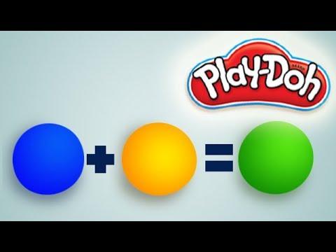 comment mélanger les couleurs en pâte à modeler play doh