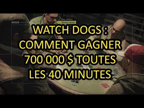 [TUTO WATCH DOGS] Comment gagner 700 000 $ au poker en 40 min.