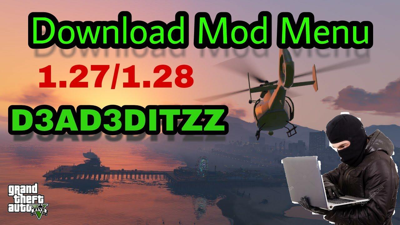 gta v mod menu download ps4 1.28