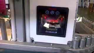 Lector de Codigos de barra multihaz en Control de Prudcción