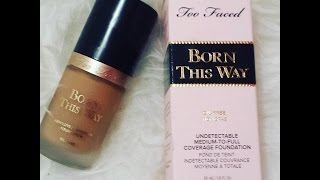 Base Born this way da Too Faced ! Resenha basica ! Angela Ribeiro