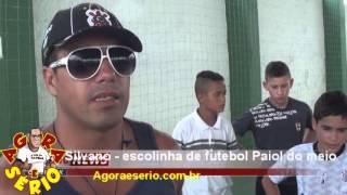 JORNAL AGORA É SÉRIO ESCOLINHA DE FUTEBOL PAIOL DO MEIO SILVANO
