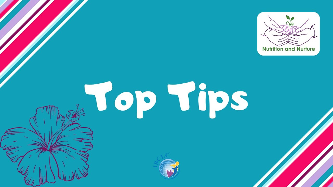 IBCLC Top Tips - Where should baby's arms go?