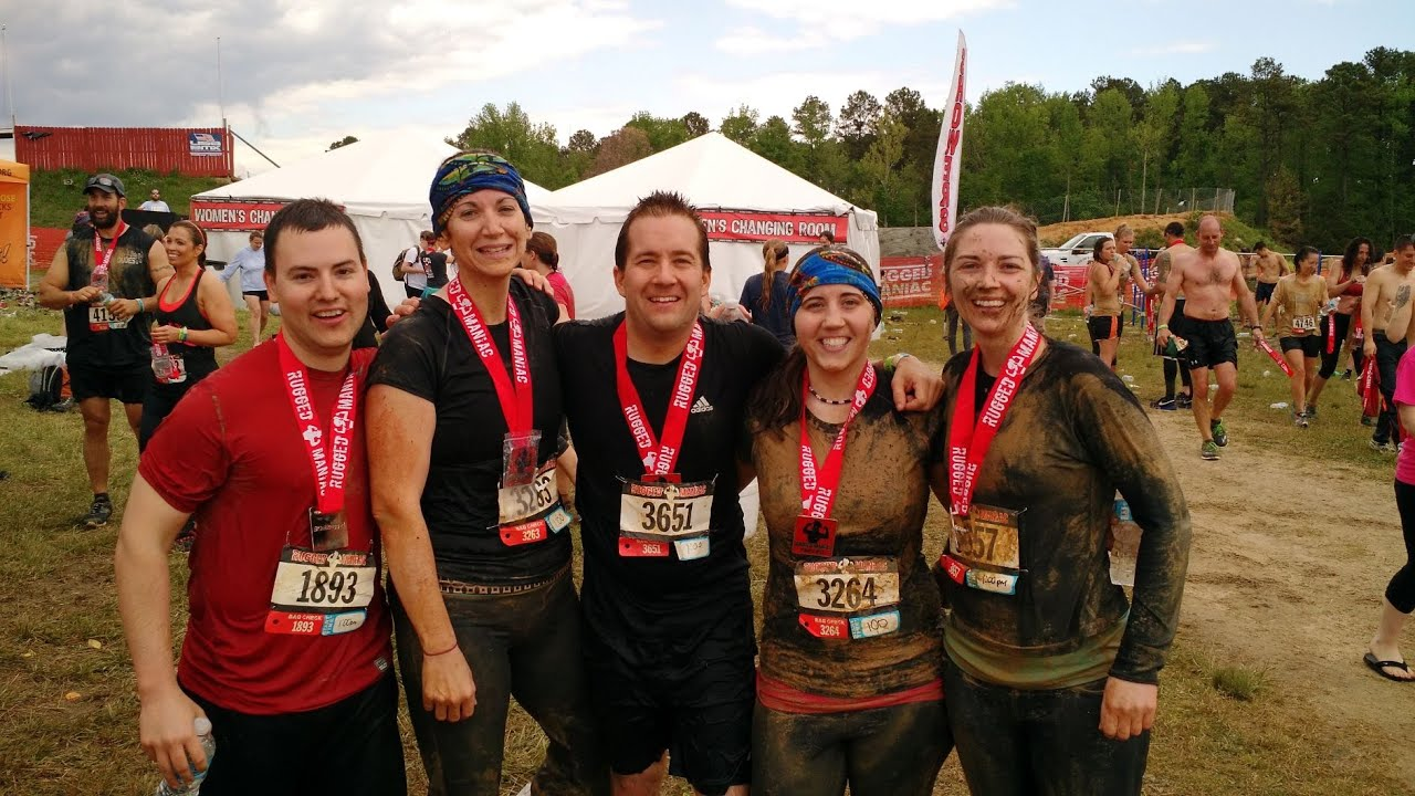 High Quality Rugged Maniac 5K Obstacle Race   Virginia Spring Race 2015