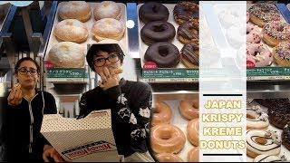 Tasting Krispy Kreme in Japan