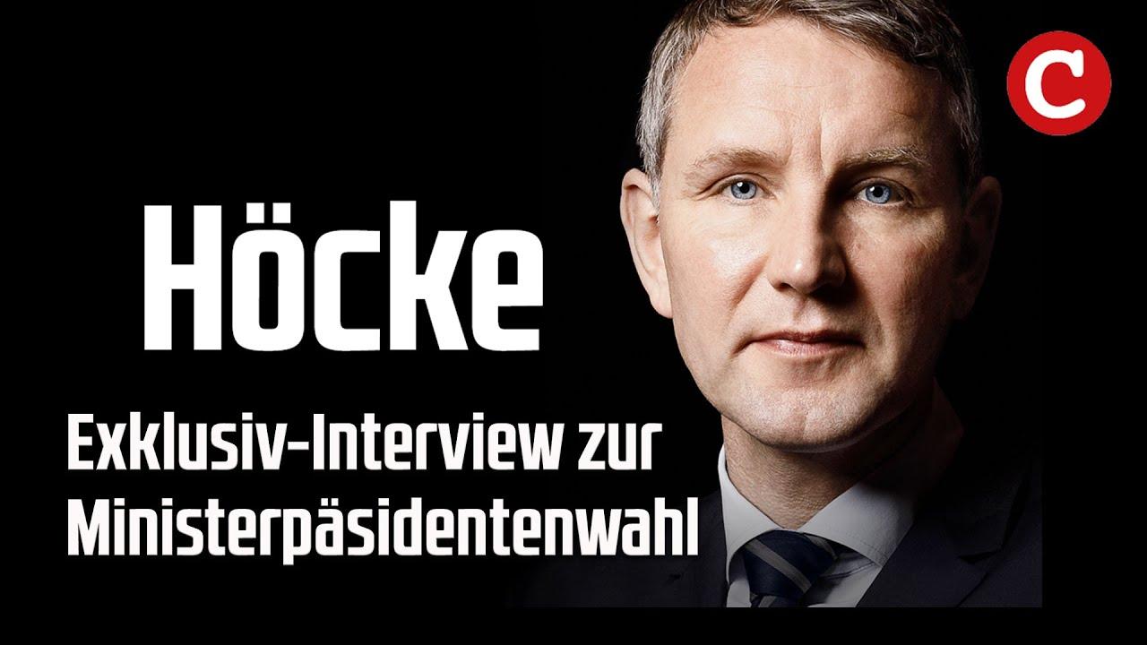 Exklusiv Bjorn Hocke Zur Ministerprasidentenwahl In Thuringen