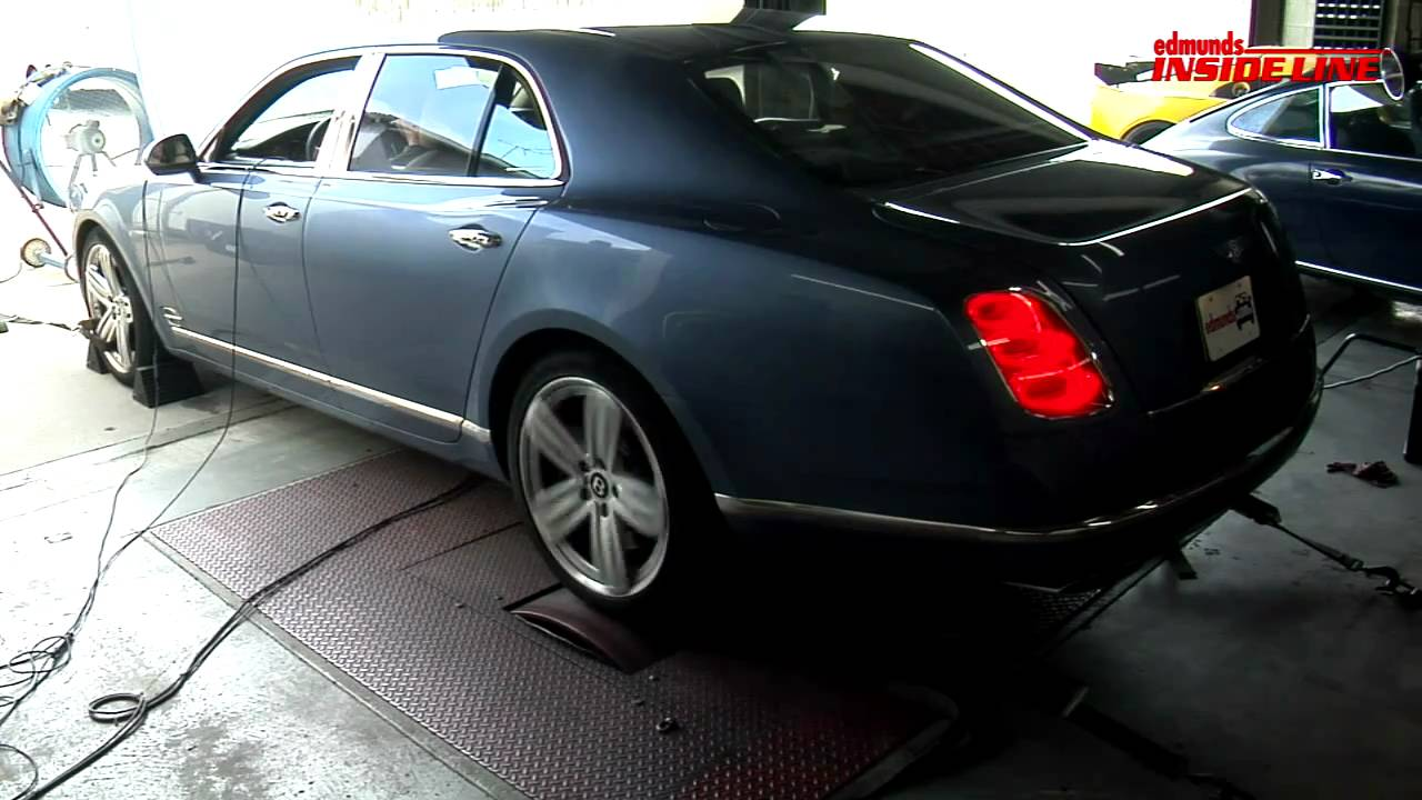 Dyno Tested: 2011 Bentley Mulsanne