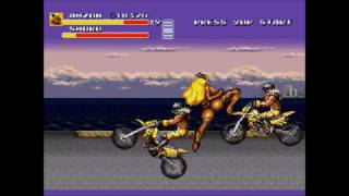 Streets of Rage 3 Amazon X Special Gameplay