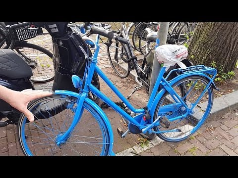 Searching For Stolen Bikes In Amsterdam + Perfume Sniffing + Toy Shopping + Andrew