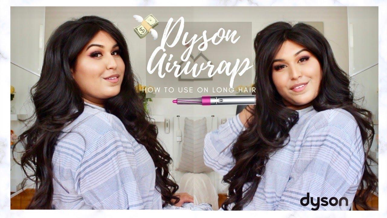 HOW TO USE YOUR DYSON ON LONG HAIR!| Renuka Rajaram ♥