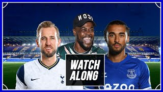 Everton vs Tottenham LIVE WITH EXPRESSIONS OOZING