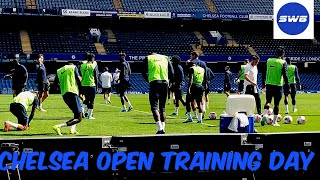 Chelsea Open Training Day Today by Frances CFC Stanley #Chelseafc #StamfordBridge #Chelseatraining!!