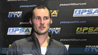 Squash : Two minutes with Greg Gaultier