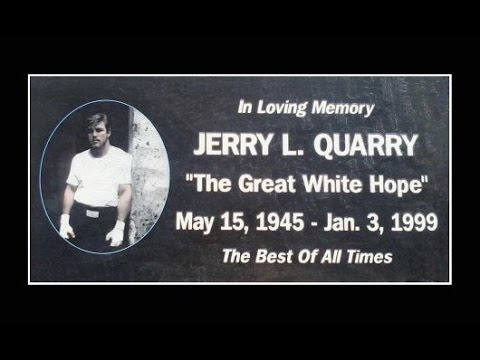 Boxer jerry quarry and the boxing hall of shame