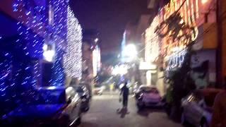 Diwali 2017 Street view new Delhi India