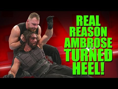 Real Reason Why Dean Ambrose Turned Heel & Attacked Seth Rollins