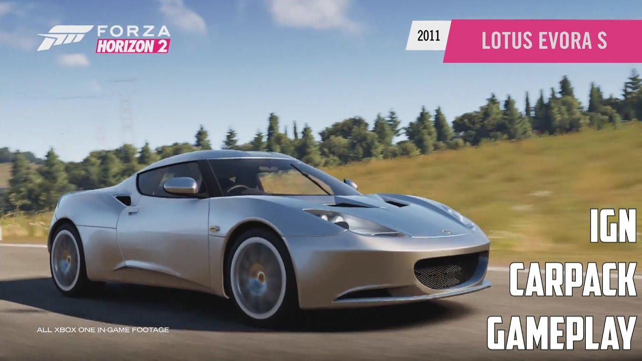 forza horizon 2 lotus evora s gameplay ign car pack youtube. Black Bedroom Furniture Sets. Home Design Ideas