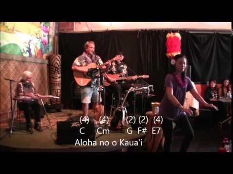 Aloha Kaua\'i by Mike Keale Lyrics and Chords - YouTube