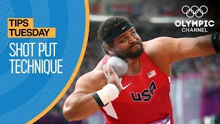 How to Throw a Shot Put ft. Reese Hoffa | Olympians' Tips