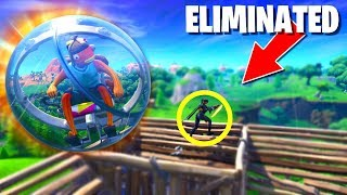 This New Fortnite Baller Vehicle is Amazing!! (Fortnite: Battle Royale Hamster Ball Gameplay!)