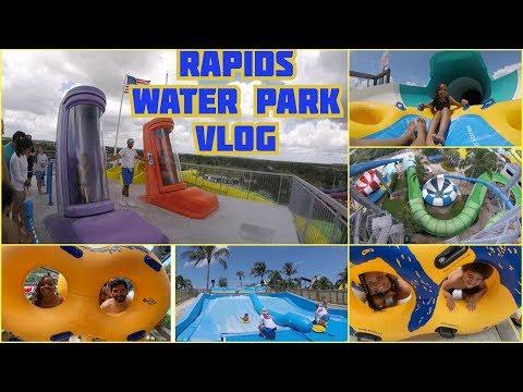 RAPIDS WATER PARK VLOG (ONRIDE POV)  ANGIE&THREE!!
