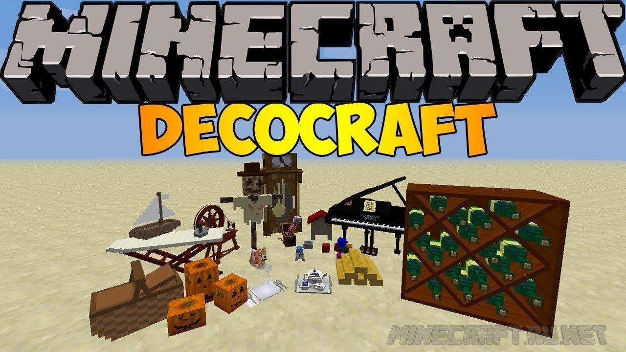 Скачать DecoCraft 2 мод для Minecraft 1.12.2/1.11.2/1.10.2 ...