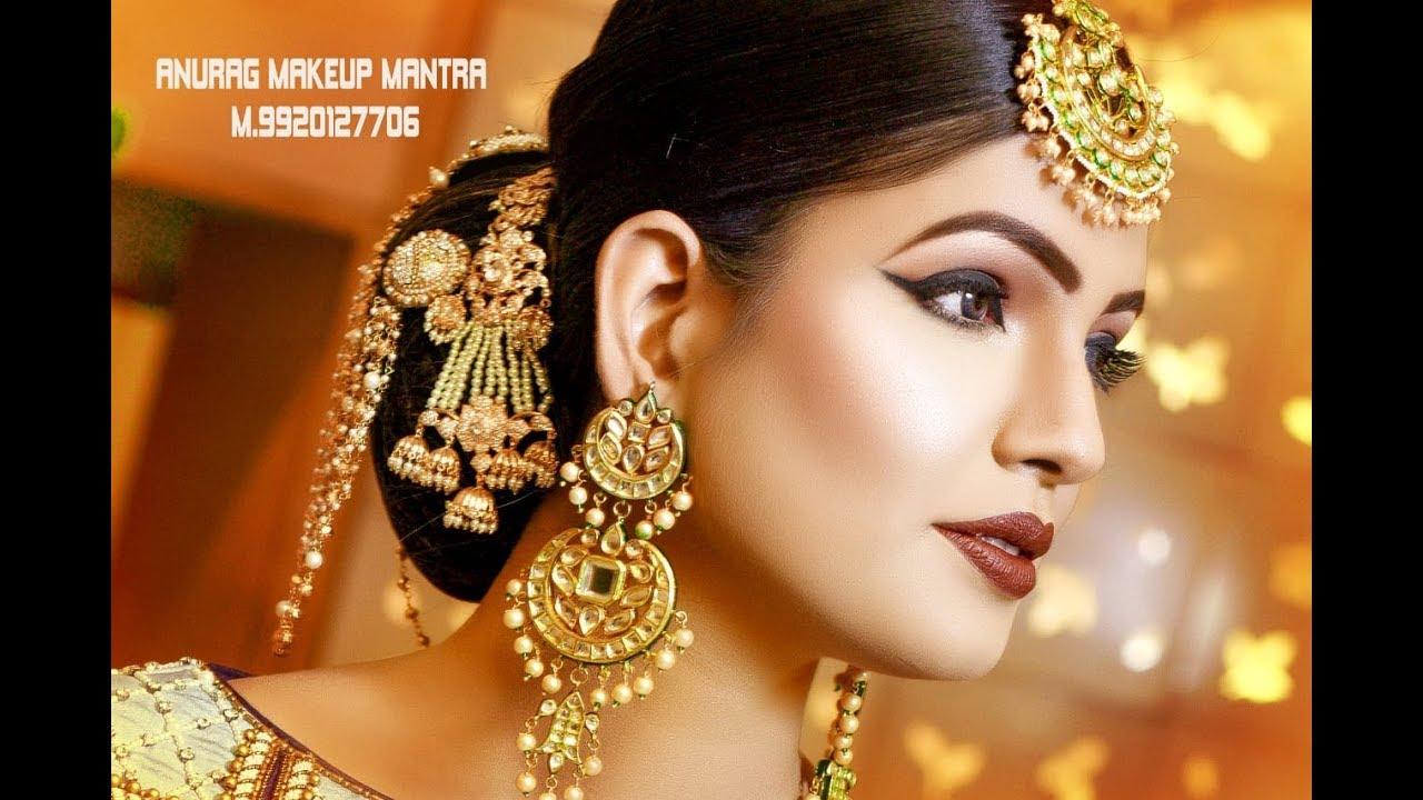 latest real bridal hd makeup anurag sir call 9920127706,,9830056328 rohit