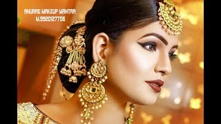 Latest Real Bridal HD makeup anurag sir call 9920127706,,9830056328 Rohit