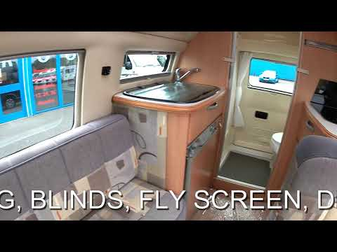 FOR SALE 2009 AUTO-SLEEPER TOPAZ MOTORHOME AUTOMATIC 2 BERTH 3 TRAVELLING SEATS