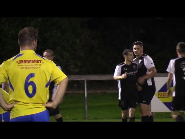 FC Dombresson II vs FC Môtiers I 5-9