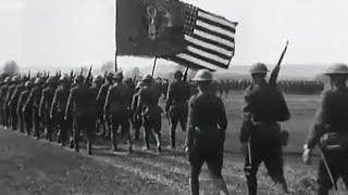 US troops enter WW1 - Timewatch - BBC