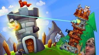 ДВЕ СОРВАННЫЕ БАШНИ! ► Tower Crush
