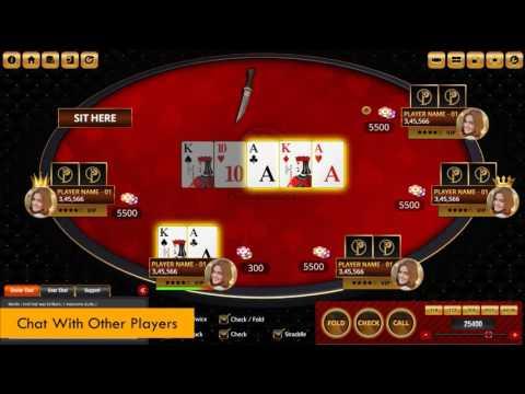 PokerMet - Online Poker Gaming Website Promo