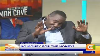 Power Breakfast: MAN CAVE: Women more interested in kissing wallets- Roy Karuhize