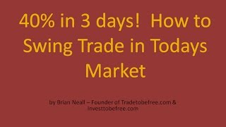 How to Swing Trade Stocks - 2 Profitable Setups