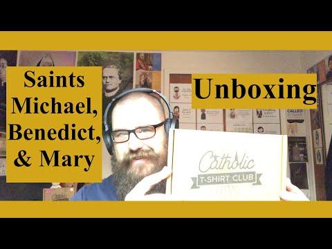 Catholic T-Shirt Club Unboxing: Spiritual Battle