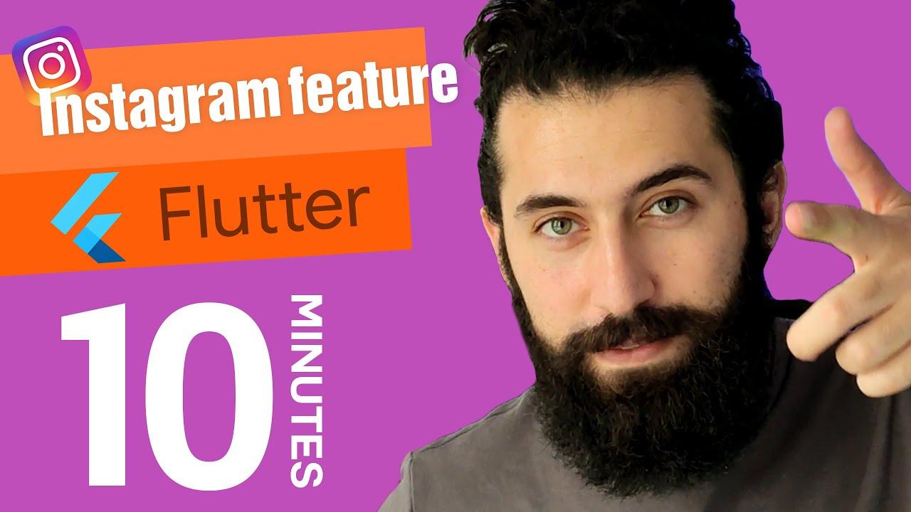 Creating Instagram Story Designer with flutter