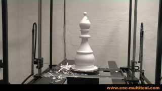 CNC Foam cutting - Turntable (3/3)