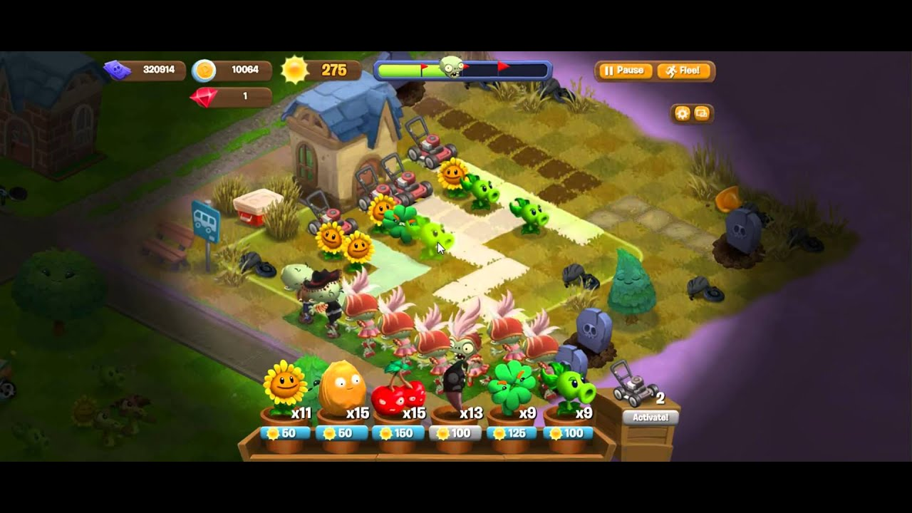 Plants vs. Zombies Adventures - Chilly Lot - YouTube