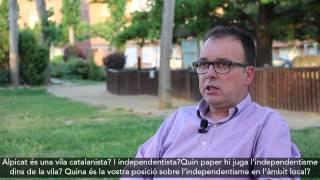 Entrevista Joan Gilart (CiU)  #EMAlpicat2015